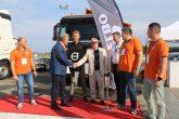 """W dniu 30 sierpnia 2019 odbyły się II Targi Rozwiązań Transportowych 4Poland. Wydarzenie to połączone było z imprezą jubileuszową z okazji 25-lecia Volvo Trucks w Polsce. Nasza firma miała przyjemność zaprezentowania swoich produktów, jak również miało miejsce oficjalne przekazanie pojazdu Volvo FM 6×4 z zabudową firmy ELBO Sp z o.o. typu 3WH firmie """"ZYKO-DRÓG"""" Sp z o.o. przez naszego prezesa, Pana Bogdana Stryjewskiego."""